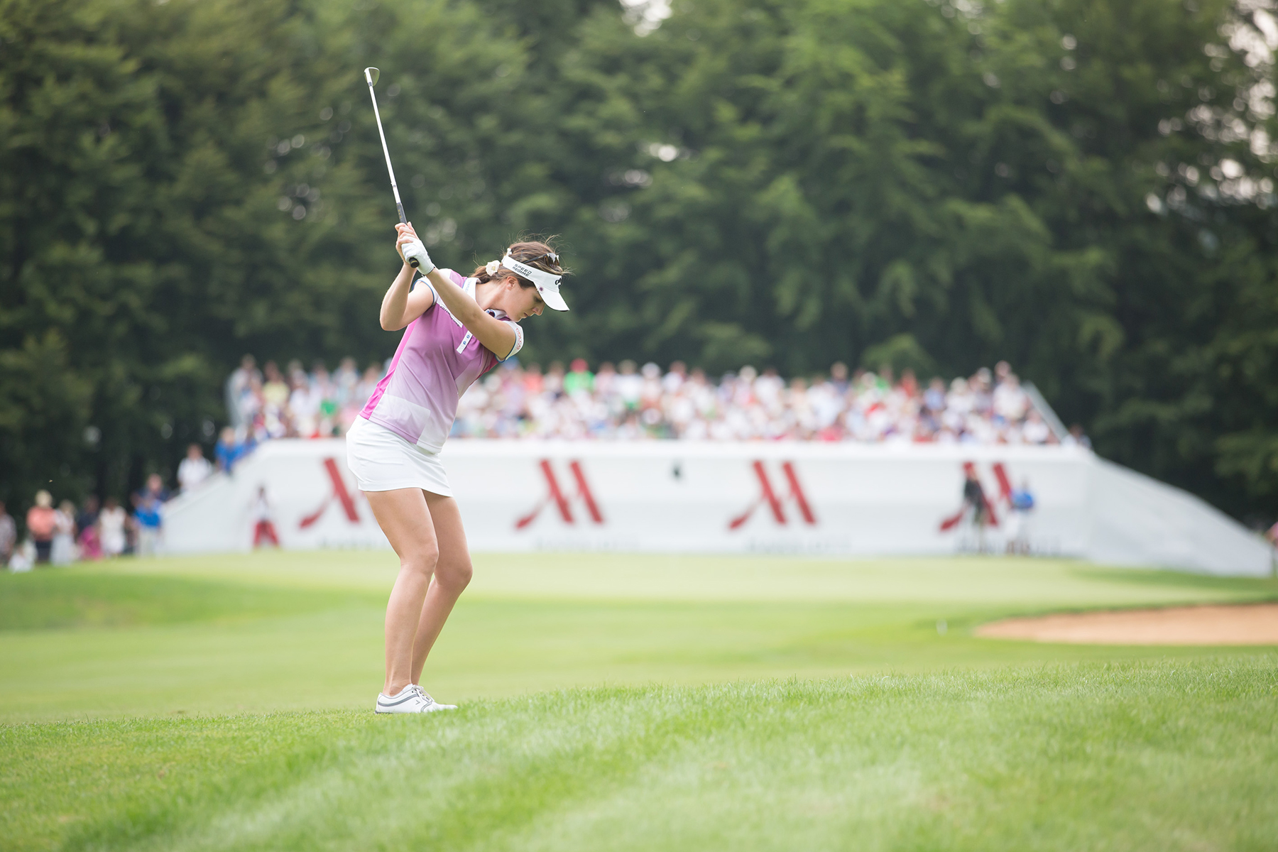 Sandra Gal bei den Ladies German Open presented by Marriott. © Stefan Heigl