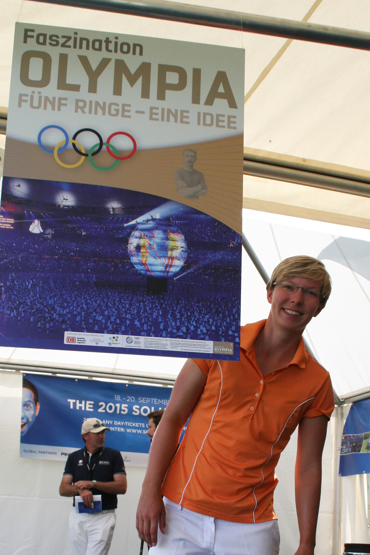 Ann-Kathrin Lindner bei den Ladies German Open © DGV