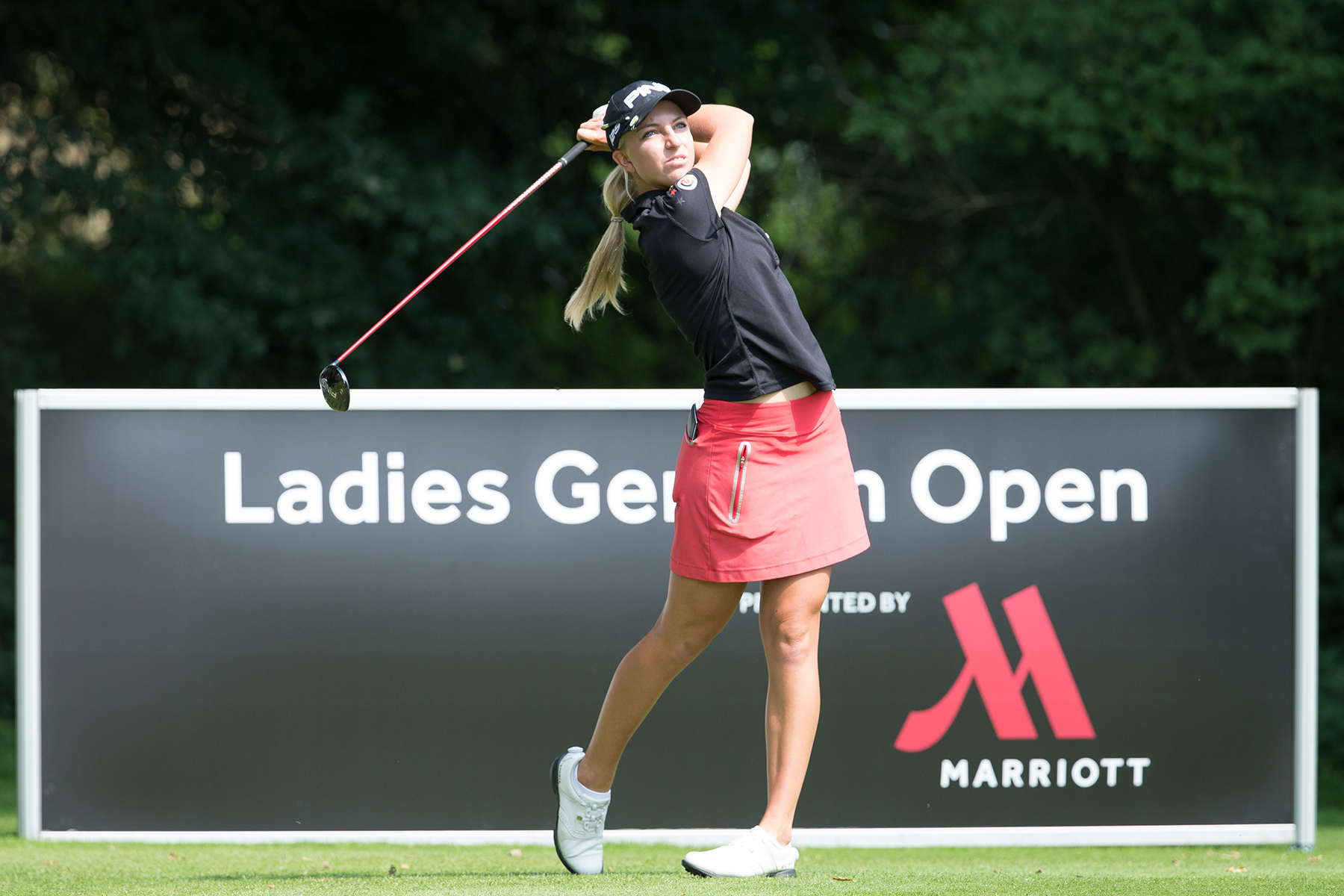 Sophia Popov bei den Ladies German Open © DGV